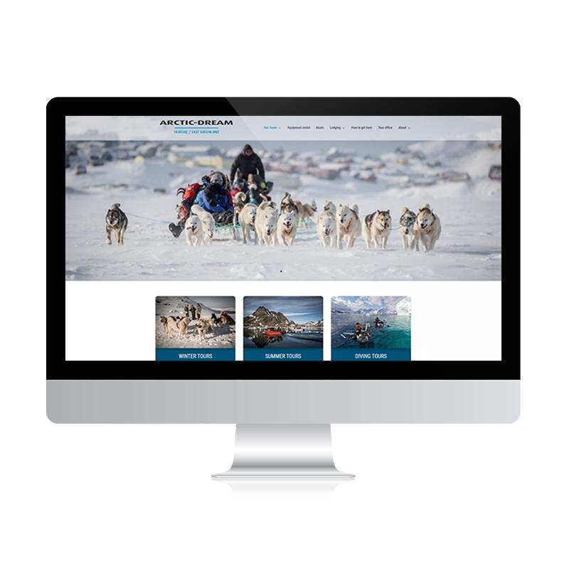 arctic-dream hjemmeside